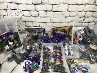 Large Halo Mega Bloks lot, figures, vehicles, parts weapons, accessories, Extras
