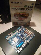 Gigabyte MA790XT-UD4P Mainboard Sockel AM3 in OVP mit Kabeln