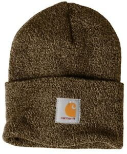 Carhartt Acrylic Watch Beanie Knit Men's Stocking Cap Warm Winter Hat Authentic