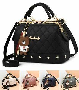Women Handbag Leather Briefcase Shoulder Bag Tote Purse Ladies Satchel Messenger