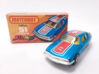 Vintage 1974 Matchbox Superfast Streakers #51 Citroen SM Brand New Original Box