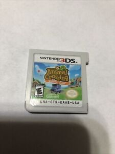 Animal Crossing Welcome Amiibo 3ds Game Nintendo No Case Used Tested Works