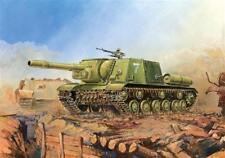 Zvezda PISTOLA D'ASSALTO SOVIETICO ISU-152 KIT MODELLINO IN PLASTICA-Scala 1/100 - 6027