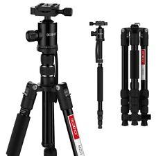 Beschoi Kamerastativ Reisestativ Videostativ aus Aluminumfür Canon Nikon DSLR