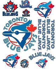 Toronto Blue Jays RETRO Scrapbooking Craft Sticker Sheet Set #1