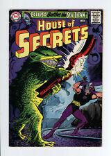 HOUSE OF SECRETS #73 - ECLIPSO vs MONSTER COVER - 1965
