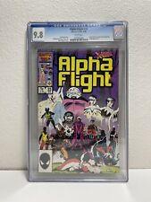 Alpha Flight #33 - Marvel 1986 CGC 9.8 Yuriko Oyama becomes Lady Deathstrike!