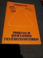 PROBLEMAS DE QUIMICA GENERAL Y SUS FUNDAMENTOS TEORICOS (F. BERMEJO/M. PAZ)