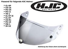 HJC visera hj-09 para cl-SP cs-15 fg-15 fs-11 tr-1 cl-St II plata efecto espejo