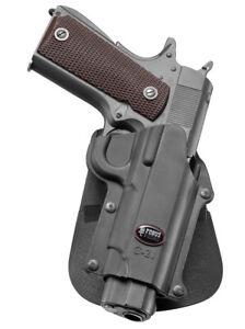 Fobus belt retention holster for browning hi-power, kahr mk9