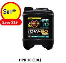 HPR10 10W50 FULL SYNTHETIC (10L) PENRITE ENGINE OIL