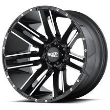 20 Inch Black And Silver Wheels Rims Toyota Tundra Truck 5x150 Lug Mo978 Set 4