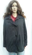 GLOVERALL Navy Blu Cappotto Giacca Rimovibile PLAID LANA FODERA Vintage 10-12