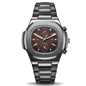 Men's Wrist Watch Classic Luxury Homage Quartz Date Full Steel watch