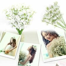 12pcs Artificial Silk Gypsophila Baby's Breath Fake Flower Bouquet Home Wedding