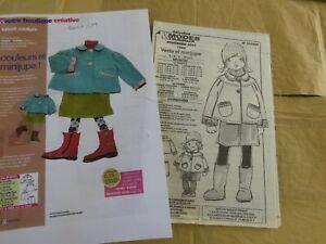 patron poupée et enfant modes et travaux Emilie novembre 2007