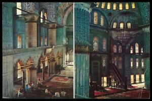 AK TURKEY ISTANBUL MOSQUEE MOSQUE MOSCHEE ISLAM POSTCARD PC aw32