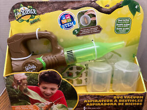 EduScience Nature Insect Bug Vacuum & Blower STEM NEW SS Complete Kit