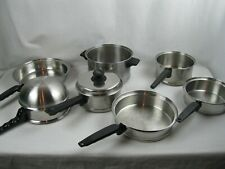 8 Piece Lifetime Cookware Set Stock Pots,Sauce Pans, Frying Pans ,Lid