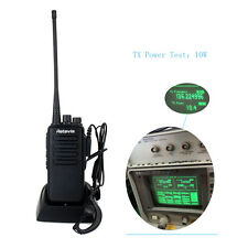 HOT RETEVIS RT1 10W Walkie Talkie VHF136-174 MHz Scrambler 1750Hz 2-Way Radio YS