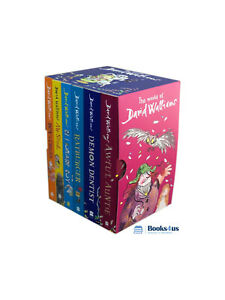 The World of David Walliams 6 Books Collection Set