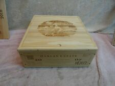2007 HARLAN ESTATE WOOD WINE 3 BOTTLE BOX SLIDE LID SEXY LADY COMPLETE