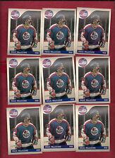 9 X 1985-86 OPC # 145 JETS PAUL MACLEAN CARD LOT