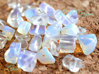 Tumbled Gemstone Crystal Opal Chip Stone 5g With Holes DIY Jewellery Hand Craft