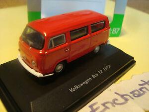 Miniature Modelling Rail Volkswagen T2 Bus 1972 1/87 Ho Welly 5 CM Long
