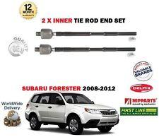 FOR SUBARU FORSTER 2008-2012 NEW 2x INNER  STEERING TRACK RACK TIE ROD END
