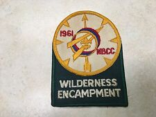 1961 Explorer Wilderness Encampment NBCC