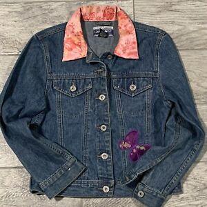 Limited Too Black Denim Jacket