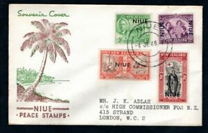 Niue - 1946 KGVI Peace Issue First Day Cover