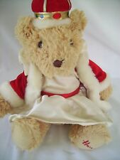 The Queen Bear from Harrods wearing her Crown