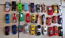 Lot of 30 Loose 1/64 Diecast & Toy Cars Trucks Hot Wheels Matchbox