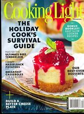 Cooking Light December 2016 Holiday Cook's Survival Guide