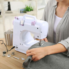 12 Stitch Electric Overlock Sewing Machine Household Quilting Tool w/ LED Light