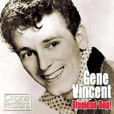 GENE VINCENT ~ BLUEJEAN BOP NEW + SEALED CD ORIGINALS / ROCK AND ROLL ROCKABILLY