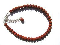 "Ind. Rudraksha ""Tränen Shivas"" Armband 925 Silber 19,5-23,5 cm 3338"