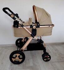 Kinderwagen mit Autositz 2in1 Kombi-Kinderwagen Babywanne Babyschale Alu Neu