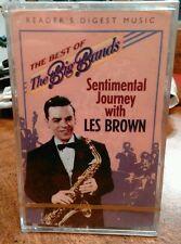 Reader's Digest Music Vintage Sentimental Journey with Les Brown Cassette