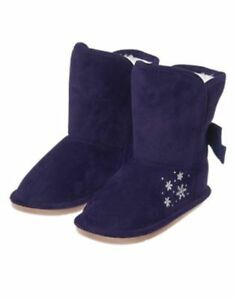 NWT Gymboree Fair Isle Flurry Navy Blue Snowflake Toddler Booties Boots