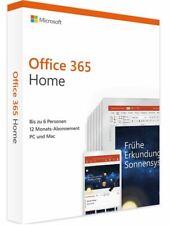 Microsoft Office 365 Home (6 User / 1 Jahr) Download ESD Lizenz