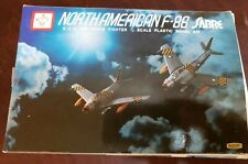 Kiddyland F-86 North American Sabre Air Force Fighter 1/72 Model Kit #187