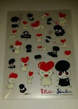 TAKASHI MURAKAMI KaiKai Kiki Co 'iiKoto chan waraiKoto chan' cute Plastic Folder