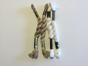 DMC Pearl Cotton Size 5 #849 & B5200 - 27.3 yards each