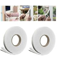 1, 2 or 3 NEW 5M FOAM DRAUGHT EXCLUDER WEATHER SEAL STRIP INSULATION DOOR WINDOW