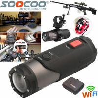 WIFI HD 1080P Sports Action Camera Bike Helmet Motorbike Camcorder For Shotgun
