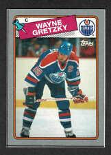 1988-89 Topps Box-Bottom 'B', Oilers' Wayne Gretzky, Mint