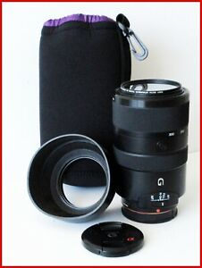[MINT] Sony SAL70300G 70-300mm F/4.5-5.6 SSM G Lens A-Mount w/Hood + Case #450